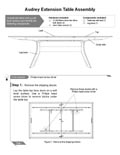 Audrey Extension Table Assembly