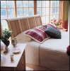 Sarah Sleigh Bedroom 51 inches in  Cherry and Maple